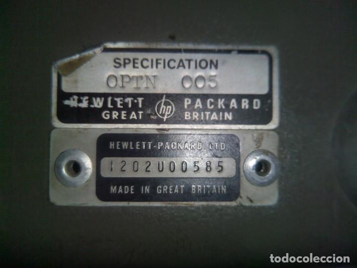 Radios antiguas: SOFOMETRO HP 3556A PSOPHOMETER (Escucho ofertas) - Foto 2 - 131887138