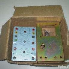 Radios antiguas: COMPROBADOR Y FUENTE DE ALIMENTACION DEL CURSO RADIO ERATELE PARA MONTAR.. Lote 132341314