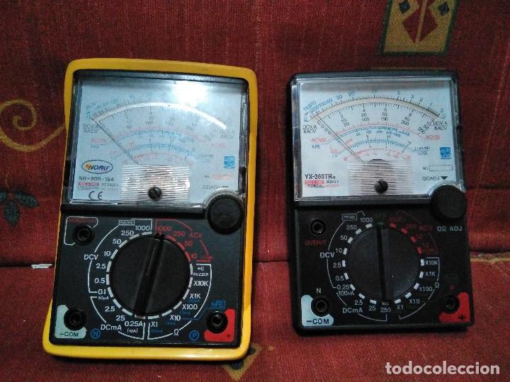 DOS COMPROBADORES PARA REPARAR O PIEZAS (Radios - Aparatos de Reparación y Comprobación de Radios)