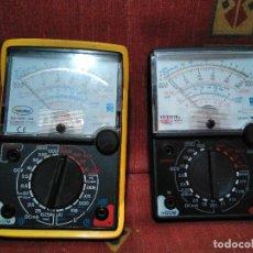 Radios antiguas: DOS COMPROBADORES PARA REPARAR O PIEZAS. Lote 132511838