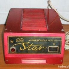 Radios antiguas: ESTABILIZADOR ERGA - STAR.. Lote 133171146