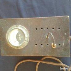 Radios antiguas: ANTIGUO VOTIMETRO TRANSFORMADOR MARCA DCA. Lote 133595442