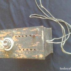 Radios antiguas: ANTIGUO VOTIMETRO TRANSFORMADOR MARCA DCA. Lote 133595582