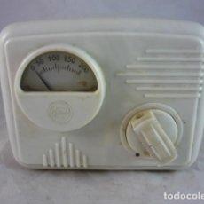 Radios antiguas: ELEVADOR REDUCTOR GRANAT - 110-120 VOLTIOS - BAQUELITA BLANCA - FUNCIONA. Lote 133978578
