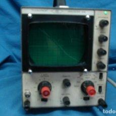 Radios antiguas: ANTIGUO OSCILOSCOPIO A VÁLVULAS S5IB. Lote 135062194