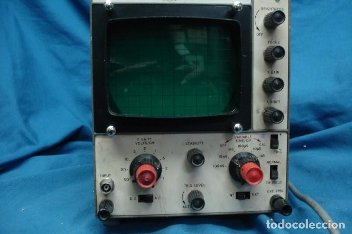 Radios antiguas: ANTIGUO OSCILOSCOPIO A VÁLVULAS S5IB - Foto 2 - 135062194