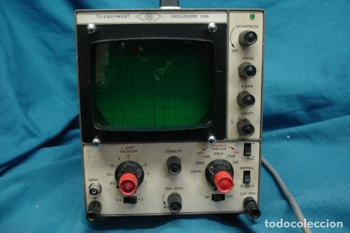 Radios antiguas: ANTIGUO OSCILOSCOPIO A VÁLVULAS S5IB - Foto 3 - 135062194