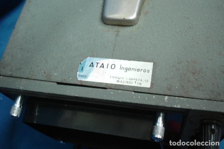 Radios antiguas: ANTIGUO OSCILOSCOPIO A VÁLVULAS S5IB - Foto 6 - 135062194
