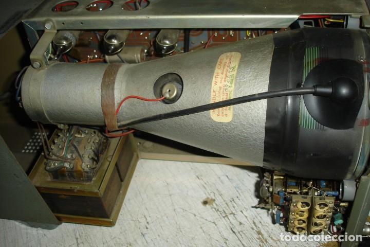 Radios antiguas: ANTIGUO OSCILOSCOPIO A VÁLVULAS S5IB - Foto 9 - 135062194