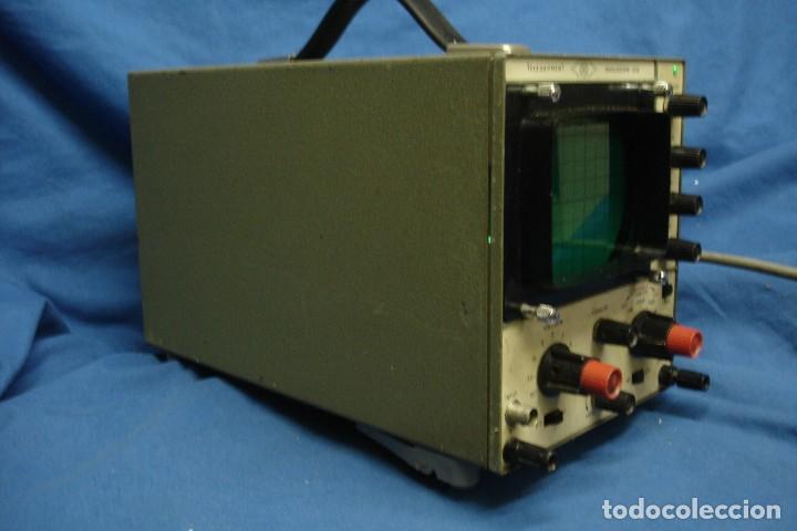 Radios antiguas: ANTIGUO OSCILOSCOPIO A VÁLVULAS S5IB - Foto 10 - 135062194