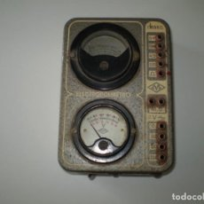 Radios antiguas: ELECTROPOLIMETRO DEL CURSO DE RADIO MAYMO.. Lote 135368254