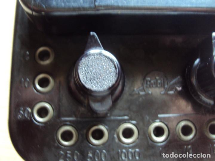 Radios antiguas: tester super antiguo - Foto 2 - 135509562
