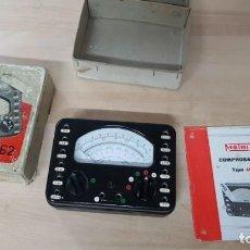 Radios antiguas: COMPROBADOR 462 METRIX GEICO. Lote 136212038