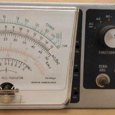 Radios antiguas: VOLTÍMETRO A VÁLVULAS - VTVM - HEATKIT IM-13. Lote 139426786
