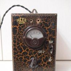 Radios antiguas: ELEVADOR REDUCTOR ALCER PARA RADIO DE VALVULAS. Lote 140429198