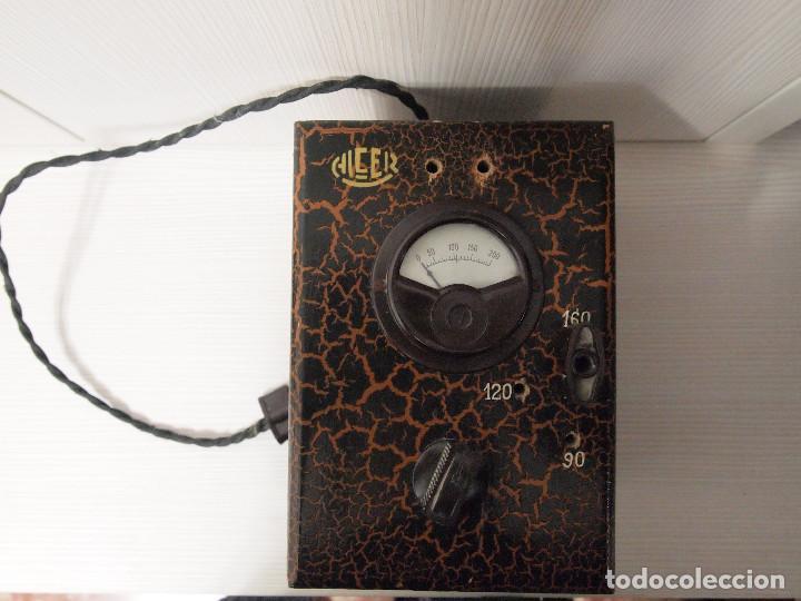Radios antiguas: ELEVADOR REDUCTOR ALCER PARA RADIO DE VALVULAS - Foto 2 - 140429198
