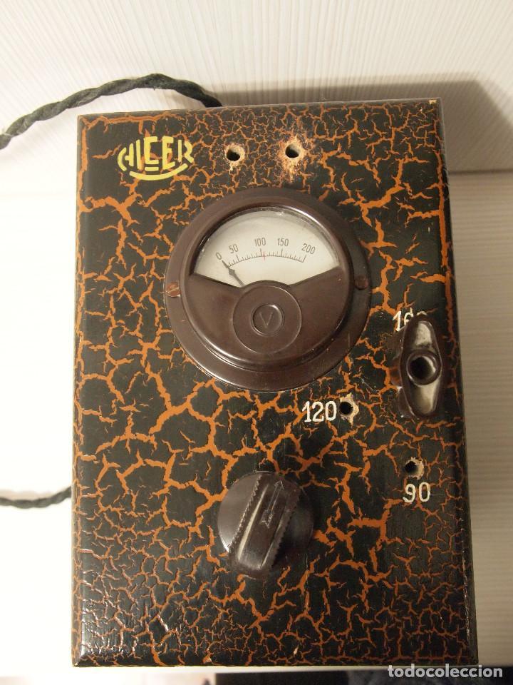 Radios antiguas: ELEVADOR REDUCTOR ALCER PARA RADIO DE VALVULAS - Foto 3 - 140429198