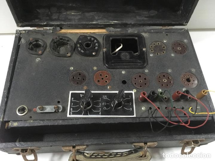 COMPROBADOR DE VALVULAS (Radios - Aparatos de Reparación y Comprobación de Radios)
