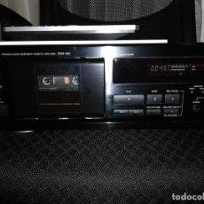 Radios antiguas: PLETINA CASSETE DENON DRM-550 FUNCIONANDO. Lote 143664334