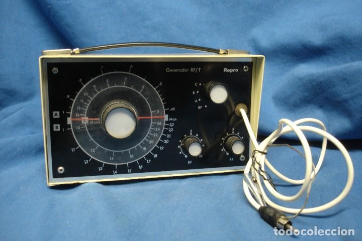 GENERADOR RF/T REPRO - FABRICADO POR AFHA ESPAÑA- SIN USO (Radios - Aparatos de Reparación y Comprobación de Radios)