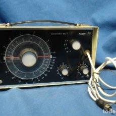 Rádios antigos: GENERADOR RF/T REPRO - FABRICADO POR AFHA ESPAÑA- SIN USO. Lote 144279594