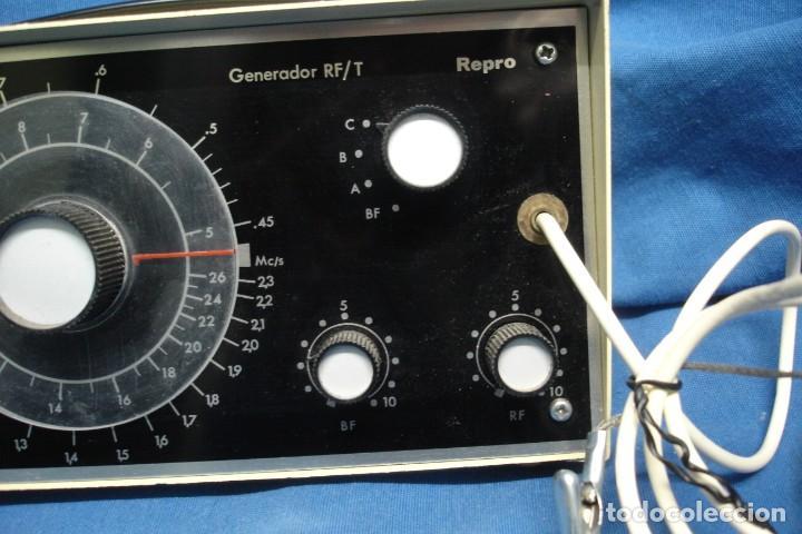 Radios antiguas: GENERADOR RF/T REPRO - FABRICADO POR AFHA ESPAÑA- SIN USO - Foto 2 - 144279594