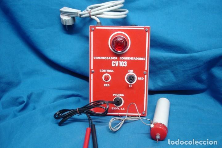 COMPROBADOR CONDENSADORES CV 103 + REGALO (Radios - Aparatos de Reparación y Comprobación de Radios)