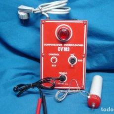 Radios antiguas: COMPROBADOR CONDENSADORES CV 103 + REGALO. Lote 144280770