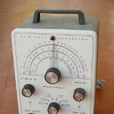 Radio antiche: GENERADOR DE RF , RADIO AM Y AUDIO. HEATHKIT IG-102...SANNA. Lote 145329198