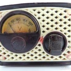 Radios antiguas: TRANSFORMADOR DE CORRIENTE MARCA DANI DE BAQUELITA AÑOS 50-60 . Lote 146180134