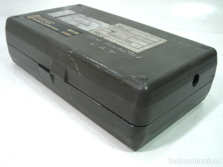 Radios antiguas: TESTER COMPROBADOR INTERFACE- WG WANDEL&GOLTERMANN DIT-24 -TELEFONICA TELEMATICA TELEFONO - Foto 5 - 148070466