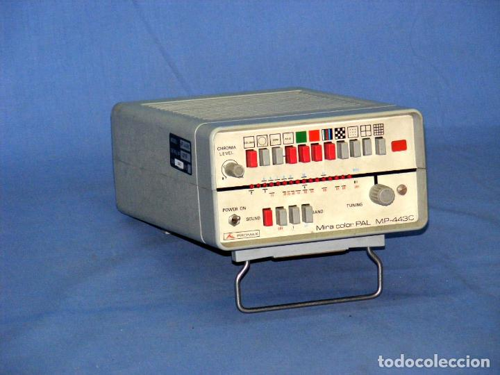 Radios antiguas: MIRA TV PROMAX MP-443-C - FUNCIONA. - Foto 3 - 148079286