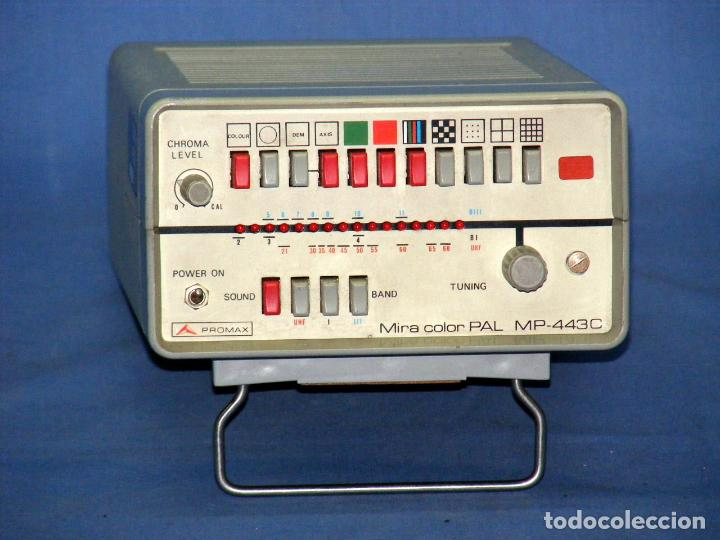Radios antiguas: MIRA TV PROMAX MP-443-C - FUNCIONA. - Foto 4 - 148079286