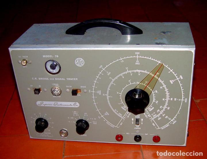 SIGNAL TRACER Y PUENTE DE MEDIDAS SICO-76....SANNA (Radios - Aparatos de Reparación y Comprobación de Radios)
