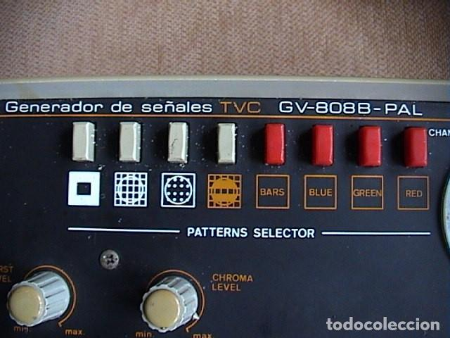 Radios antiguas: Generador de señales Promax Gv-808B PAL Mira electrónica - Foto 2 - 149815238