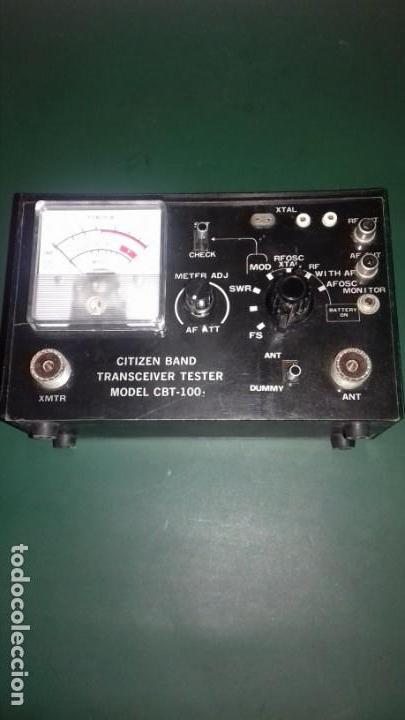 CITIZEN BAND TRANSCEIVER MODEL CBT - 100 (Radios - Aparatos de Reparación y Comprobación de Radios)