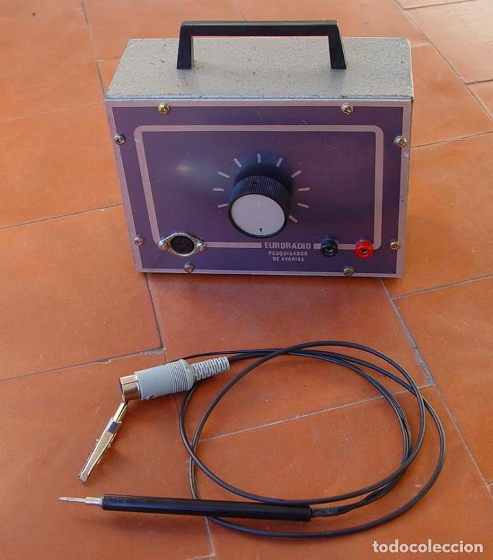 Radios antiguas: Signal Tracer. Pesquisador de avarias. Euroradio....sanna - Foto 2 - 151190626