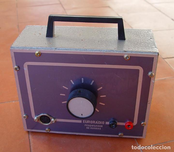 Radios antiguas: Signal Tracer. Pesquisador de avarias. Euroradio....sanna - Foto 3 - 151190626