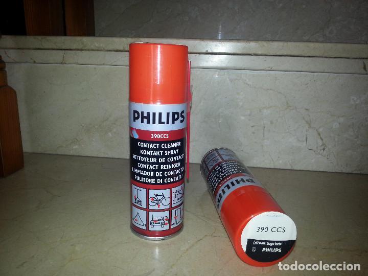 PHILIPS 390CCS:LIMPIACONTACTOS,KONTAKT SPRAY,NETTOYEUR DE CONTACTS,CONTACT REINIGER, PULITORE CONTAT (Radios - Aparatos de Reparación y Comprobación de Radios)