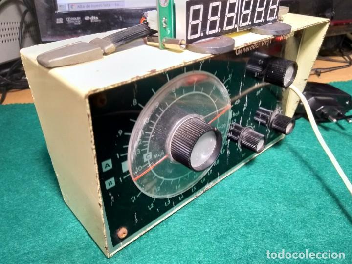 GENERADOR DE RF Y BF (Radios - Aparatos de Reparación y Comprobación de Radios)