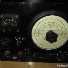 Rádios antigos: ESPECTACULAR APARATO DE MEDIDA ALEMÁN CAPACIMETRO O SIMILAR. Lote 153530190