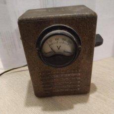 Radios antiguas: ELEVADOR REDUCTOR PARA RADIO DE VALVULAS MARCA SIDERAL. Lote 153871954