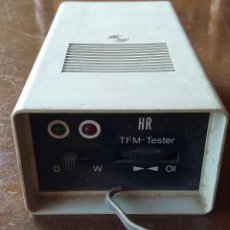 Radios antiguas: HR- TFM TESTER.. Lote 156166362