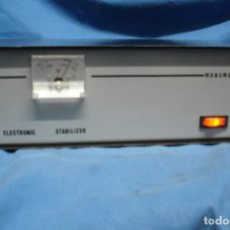 Radios antiguas: ESTABILIZADOR ELECTRONIC MARCA MANUMAG. Lote 156507318