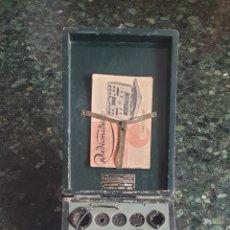 Radios antiguas: COMPROBADOR PROBADOR DE VALVULAS RADIOMETRICO AF-307 CARLOS FERRER BARCELONA AÑO 1943. Lote 156611494