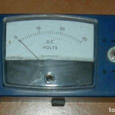 Radios antiguas: VOLTIMETRO CC HASTA 30 VOLTIOS. Lote 157316638