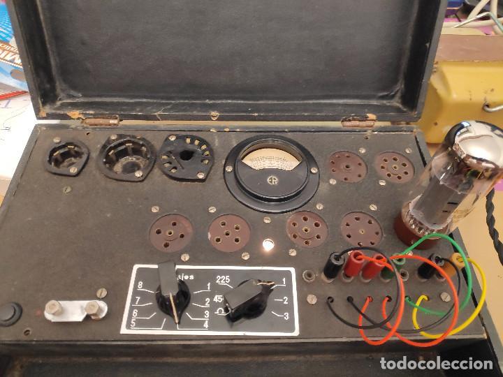 COMPROBADOR DE VÁLVULAS MAYMÓ - REVISADO Y FUNCIONANDO (Radios - Aparatos de Reparación y Comprobación de Radios)