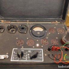 Old radios - Comprobador de válvulas Maymó - Revisado y funcionando - 161882722