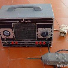 Radios antiguas: SIGNAL TRACER. PESQUIZADOR DE SINAIS A VÁLVULAS. SINFONIA P-2....SANNA. Lote 165572070