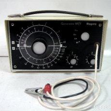 Radios antiguas: OSCILADOR GENERADOR DE SEÑALES DE RADIO RF/T REPRO 1970 - REPARACION RADIOS AFHA. Lote 167988364